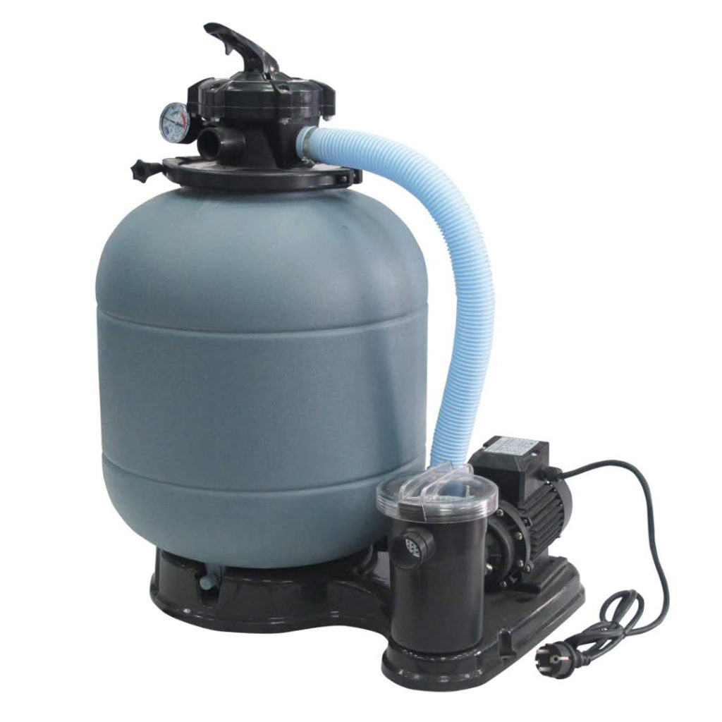 400mm sand filter and pump combo
