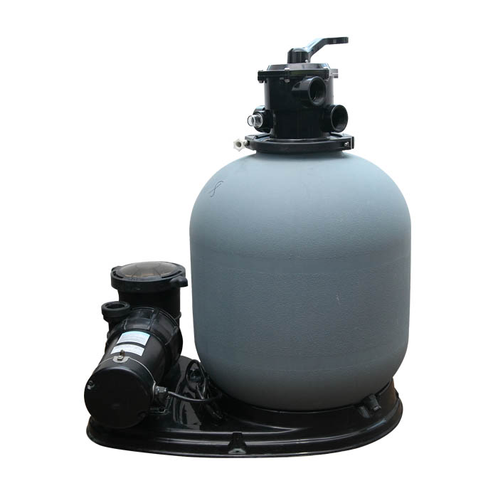 600mm sand filter and pump system