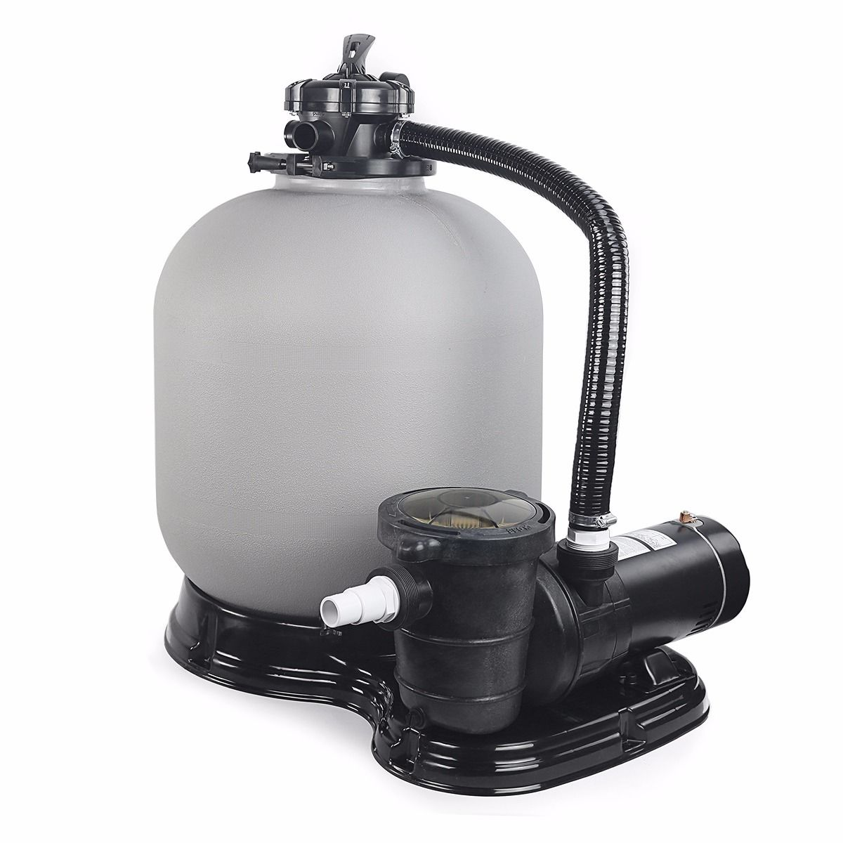 500mm sand filter and pump system
