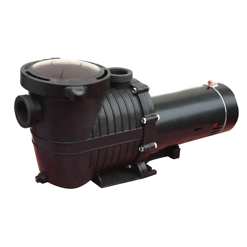 appearance of dual voltage in ground self-priming pump