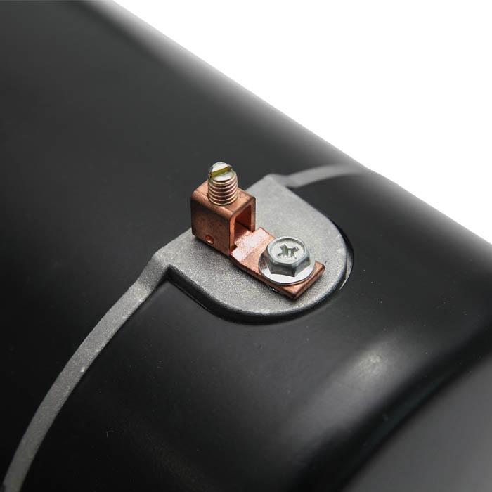 bonding screw on the pump motor