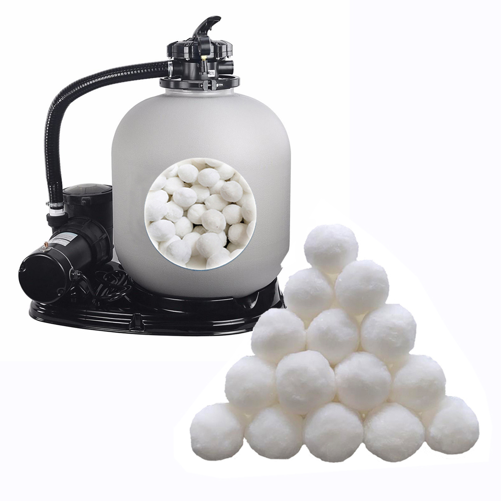 500mm sand filter and pump with filter filter balls