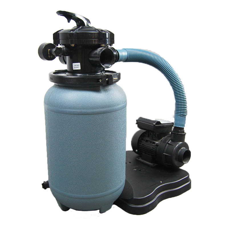 250mm sand filter and pump system