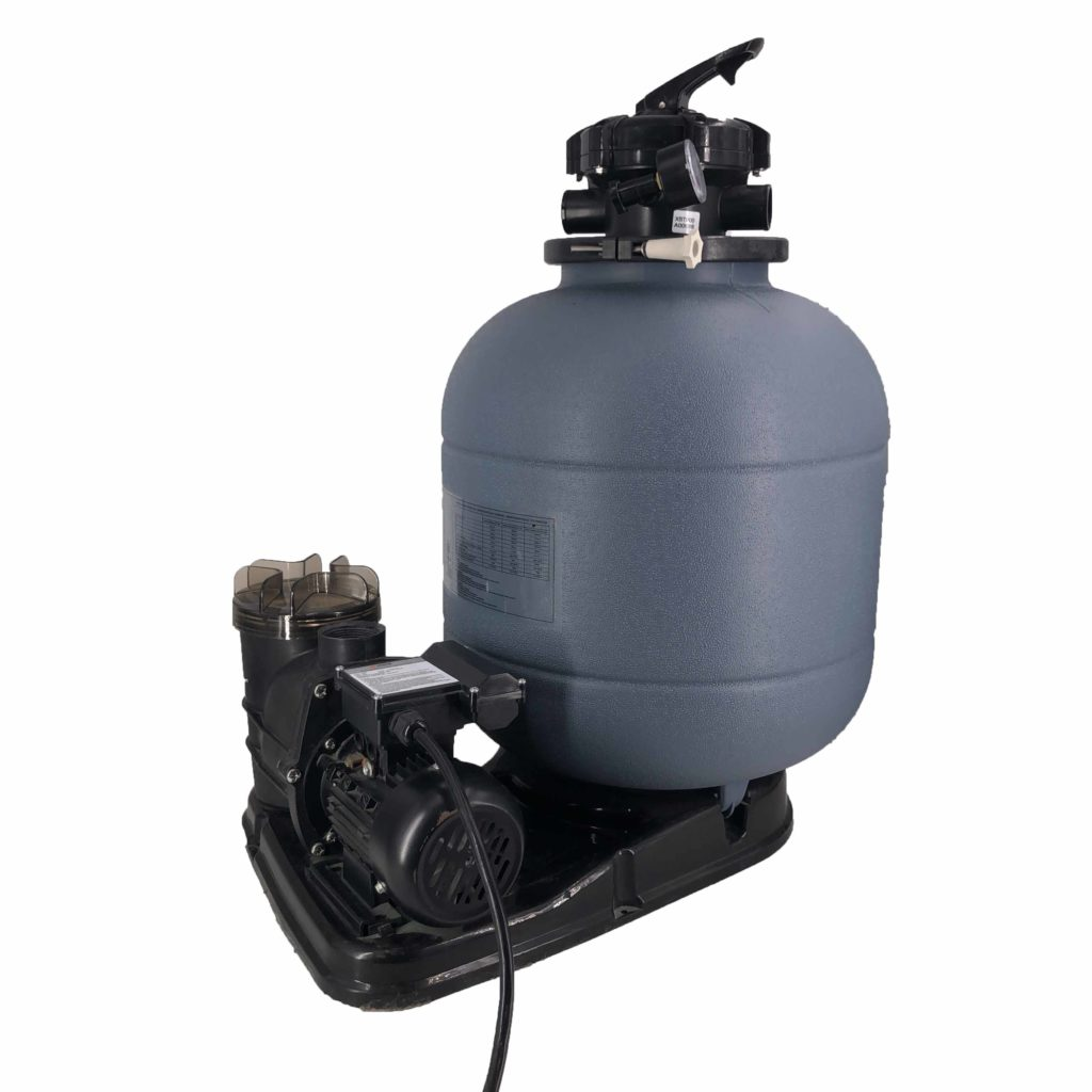 400mm sand filter and pump system