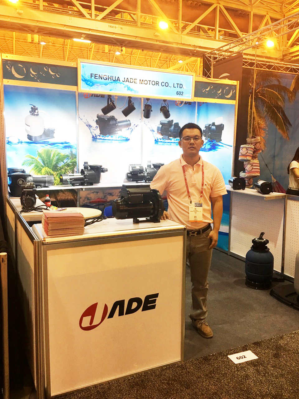 Jade in Pool|Spa|Patio Expo 2014