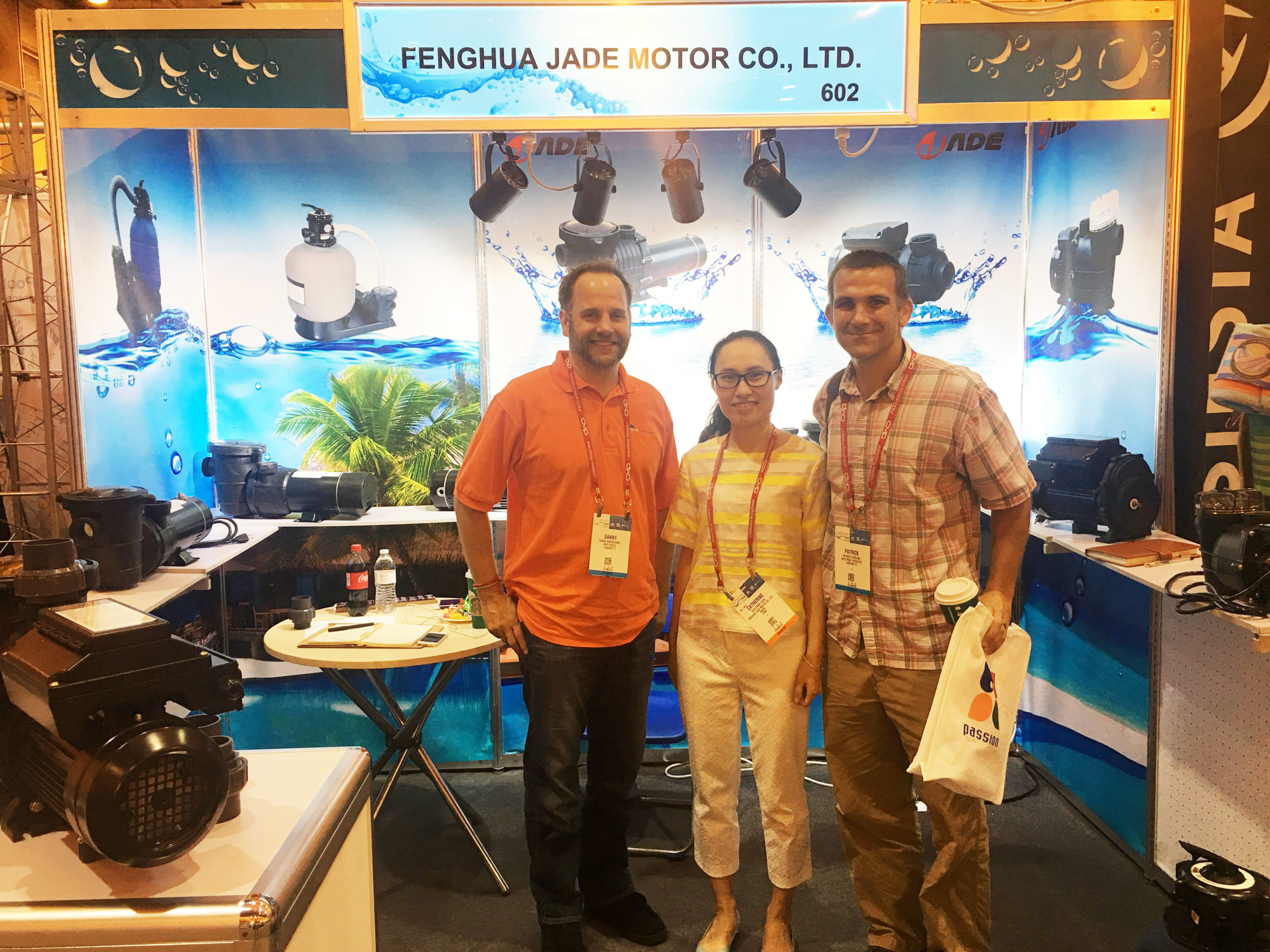 Jade In The Pool|Spa|Patio Expo 2017